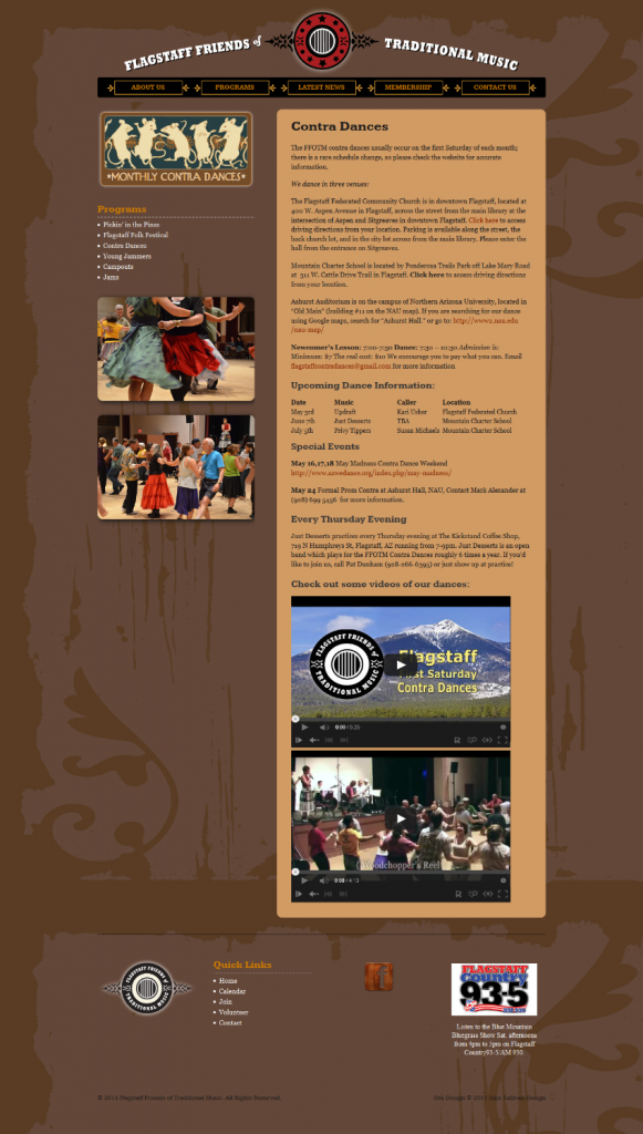 Contra Dance Page